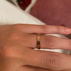 NWT Gold Ring Thin